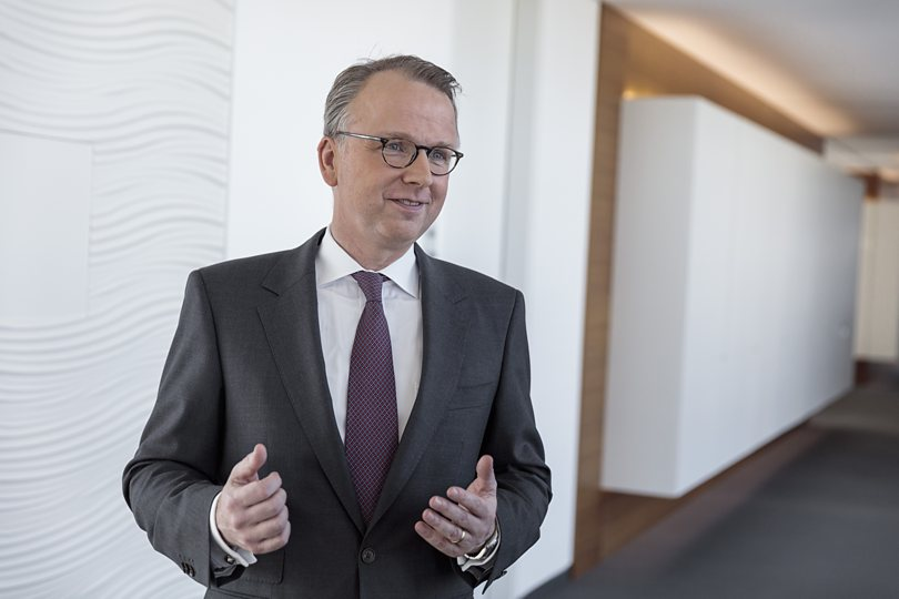 Kai Ostermann, Chairman of the Board of Deutsche Leasing AG
